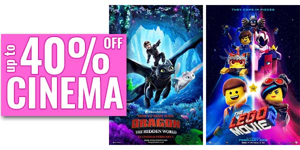 Family films at the cinema this half term