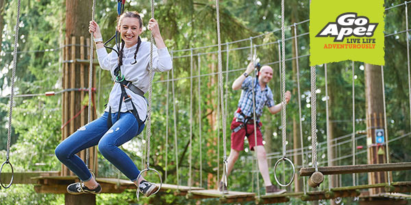 Go Ape this half term!